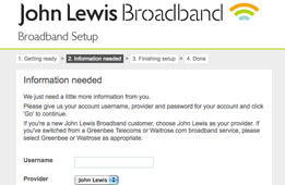 I see the Broadband Setup page.