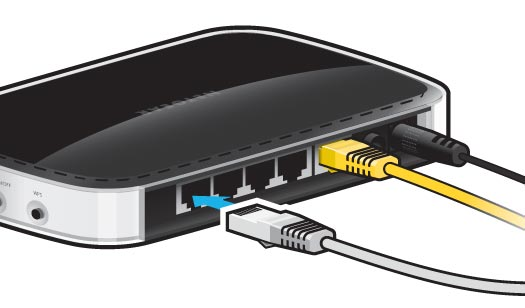 how to connect your ethernet cable to router