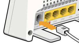 Sagemcom 2704n: Standard broadband setup guide — John Lewis