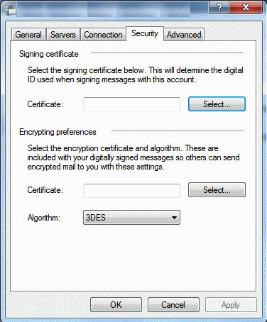 how to change password on windows live mail